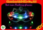 Batteries included LED flashing toys SPIDEMAN shape LED light glasses for party,FA12094
