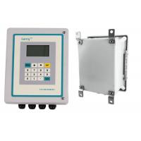 China Lightweight Transit Time Ultrasonic Flow Meter , Clamp On Type Ultrasonic Flow Meter on sale