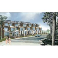 China Light Steel Structure Villa House  / Typhoon Resistance Prefab Steel House on sale