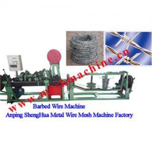 China Barbed wire machine on sale