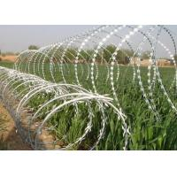 Sharp Razor Wire Barbed Tape BTO - 18 / BTO - 22 for Security Fence