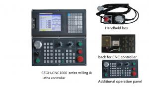 Quality 4 Axis Lathe Machine Controller With Analog voltage output of 0~10V in two for sale