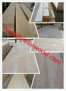 China sell rubberwood finger jointed panels on sale