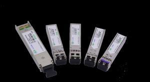 Quality Fiber Optical 40KM DWDM SFP Transceiver 10G Juniper Compatible , Multi Mode for sale