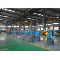 High Frequency Pipe Making Equipment , Pipe Milling Machine CE ISO Listed