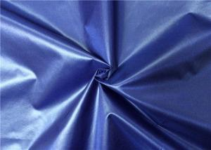 China Durable Woven Nylon Fabric 190T Taffeta 70 * 70D 58 GSM Comfortable Hand Feel on sale