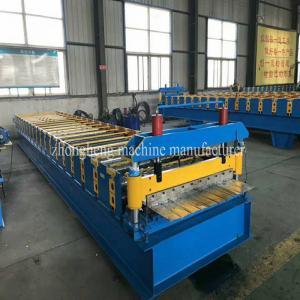 China PPGI Metal Sheet Roof Tile Making Machine / Steel Roll Forming Machine on sale