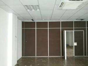 Quality Sound Proof Office Sliding Acoustic Room Divider Wall With  Aluminium Frame For Sale ...