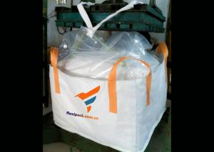 China PP Woven White Color Duffle YL 95x100B Bulk Bag /Big Bag for Ore/Agriculture  Fertilizer on sale