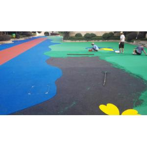China Sports Venues Anti Slip Rubber Nuggets For Playgrounds , Multiple Colors on sale