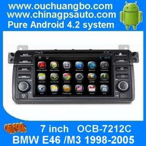China BMW E46 /M3 1998-2005 DVD radio with Android 4.2 system gps navigation iPod OCB-7212C on sale