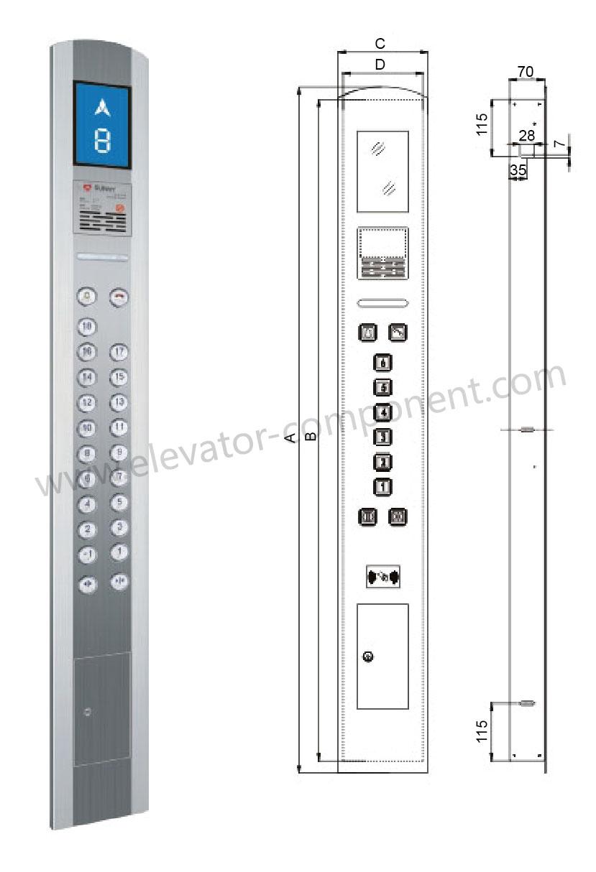 Mitsubishi Elevator Electrical Drawing