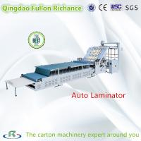 China Carton Box Low Price Automatic Veneer & Laminating & Covering Machine on sale