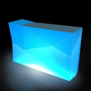 China LED Furniture modern bar counter/cash counter /reception counter for bar club party on sale