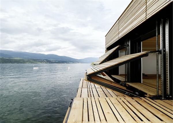 Seaside Mini Charming Prefab Eps Steel Framed Houses with Equipment ...