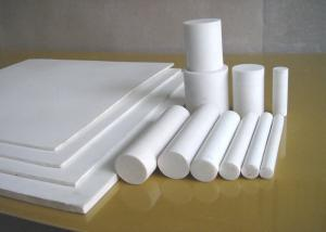 China Moulded Or Skived PTFE Sheet , Anti Corrosion Teflon Plastic Sheet For Seal / Gasket on sale