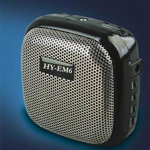China Best portable speaker, teaching speaker,tour guide speaker EM6 supplier