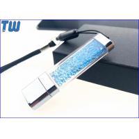 Acrylic Customized Colorful Diamond LED Light Shinning 2GB USB Flash Pen Drive