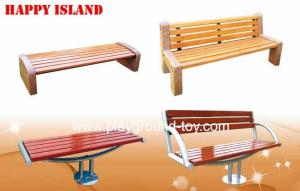 China Stone Galvanized Steel Park Chair Metal Park Benches  Outdoor on sale