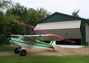 Vertical Bi Fold Hangar Door Solution Light Steel Single