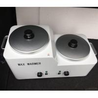 China Hair Removal Depilatory Wax Double Pot For Nail Salon Equipment Wax Warmer on sale