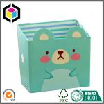 Cute Design Box Color Print Paper Stationery Makeup Cosmetics Desk Mini Carton Box