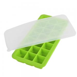 China Chinese products custom homemade silicone chocolate molds ice cream rolls maker mould square  ice cube tray on sale