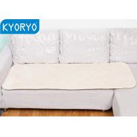 Comfortable Warming Body Mat for Car , Chair Baby Pram Size Carbon Particles Warming Blanket