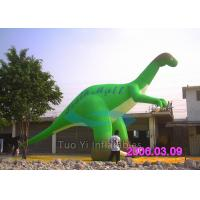 Custom Blow Up Cartoon Characters , Dinosaur Air Characters Inflatables