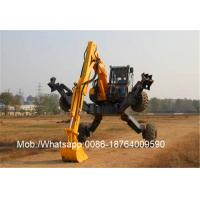 Desiel Fuel ET110 Rough Road Wheel Walking Excavator / XCMG Machinery