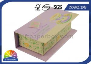 China Customized Hinged Lid Printed Rigid Gift Box For Eyeliner Beauty Products on sale