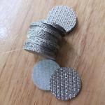 Perforated Metal Sintered Wire Mesh 5cm-100cm Width Good Permeability