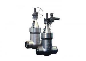 China Straight - Pattern Pressure Seal Gate Valve Flanged With ANSI Standard on sale
