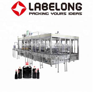 China Labelong Oil Bottling Machine 5KW Easy To Operate Highly Automated PLC Control on sale
