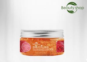 China 30 Ml Organic Farm Rose Petals Restore Whitening Face Mask Skin Moisture For Oily Skin Type on sale