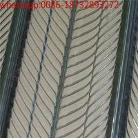 China expanded metal lathing/materials expanded metal mesh rib lath price/ rib metal lath , hi rib lath galvanized high rib la on sale