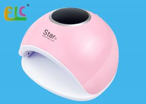 China 48 Watt UV Manicure Light Star 5 UV LED Nail Lamp Nail Drying Machine 30 Leds White and Pink Color supplier