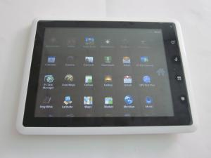 China IEEE802.11b/g/n wireless Network Multilingual Google 8 Inch Android Tablet 2.2 with WM8650 on sale