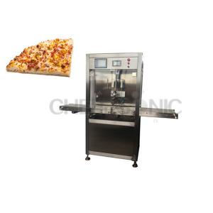 China Automatically Ultrasonic Cutting Equipment , Pizza / Cake Slicing Machine With Titanium Blade on sale