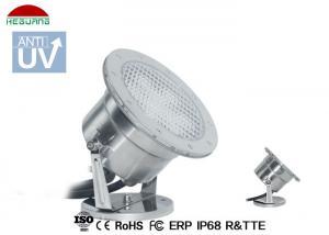 China Stainless Steel LED Underwater Pool Lights , White Waterproof Underwater LED Lights on sale