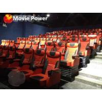 Luxury Fiberglass Theatre Room Chairs Large 3D 4D 5D 9D Movie Cinema Project
