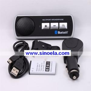China Sinoela Flexible Wireless ID Display Bluetooth Handsfree Car Kit on sale