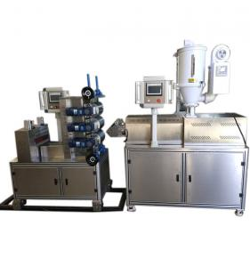 China Laboratory Type Material Testing Mini Plastic Sheet Extruder on sale