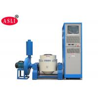 Blue Vibration Test Equipment , Electrodynamic High Frequency Vertical Vibration Tester