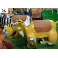 China Cartoon Ride On Motorized Stuffed Animals For Amusement Park / Game Center on sale