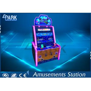 China Electronic Arcade Fishing Amusement Game Machines With Colorful Led Lights on sale