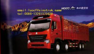China Howo 336hp 64 30 ton heavy Cargo Truck on sale