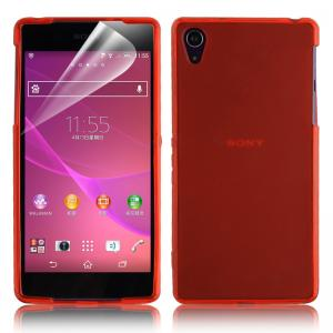 China High Glossy Pudding Soft Clear TPU Cell Phone Case For Sony Xperia Z2 on sale