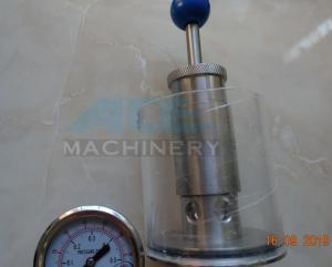 China 1in. Tri Clover Compatible Spunding Valve with Gauge Relief Spunding Valve for Brewery on sale