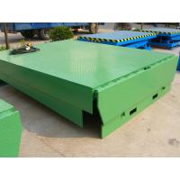 6000Kg Stationary Loading Bays adjustable hydraulic dock levelers for Material loading